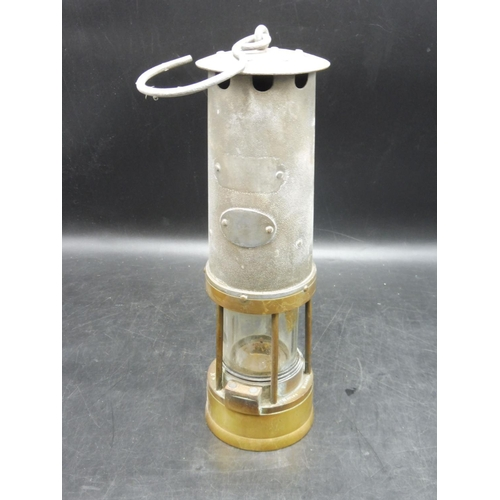 1 - Brass Miners Lamp...