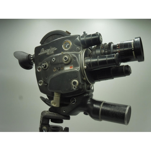 6 - Vintage Beauliou R76 16mm Cine Camera and Four lenses Complete with Tripod...