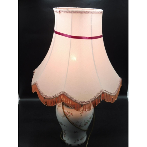32 - Floral Flower Lamp with Shade 28