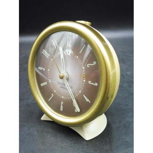 44 - Baby Ben Westclox Alarm Clock...