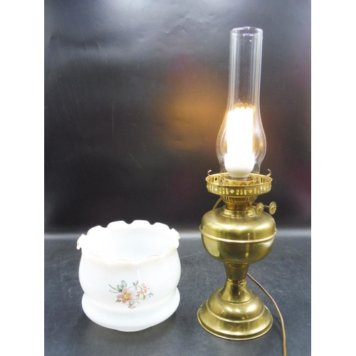 58 - Vintage Brass Lamp 19.5