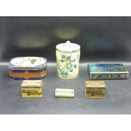 26 - Selection of Vintage Tins Including Germoplast, Eadies, CWS and More...