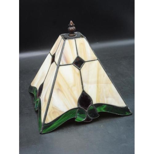 41 - Art Nouveau Tiffany Style Lamp Shade (9