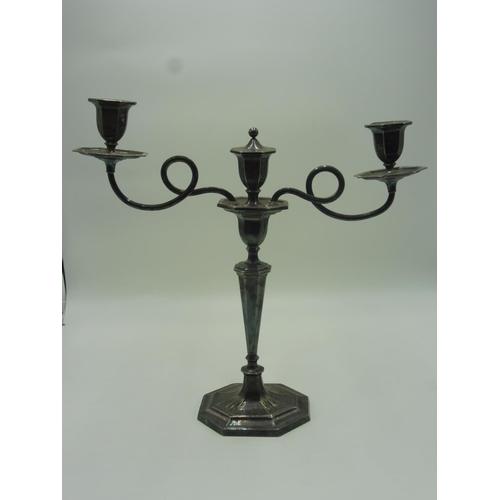 28 - Vintage Candlestick/ Candelabra Combo...