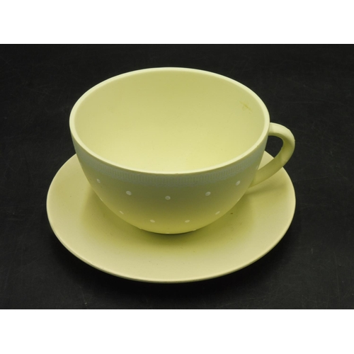 10 - Large Polka Dot Cup and Saucer (6