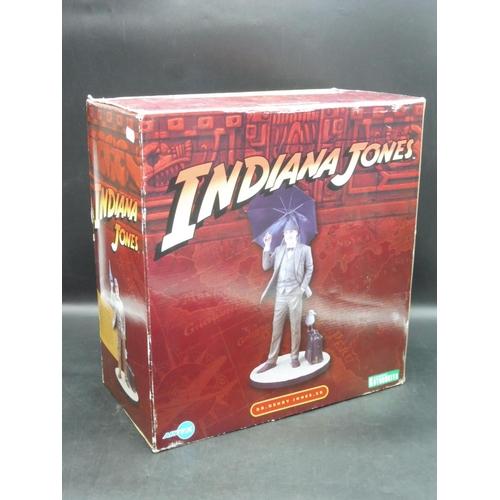 17 - Indiana Jones Henry Jones. SR ARTFX Sean Connery Statue 1/7 Figure Boxed...