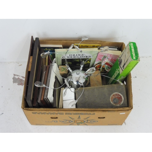 21 - Mixed Lot Including Picture Frames, Carpet Bowls, and Lots More...