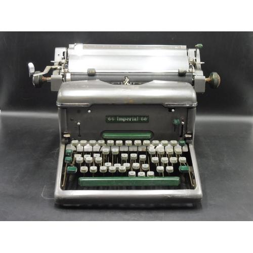 26 - Vintage Imperial 66 Typewriter...