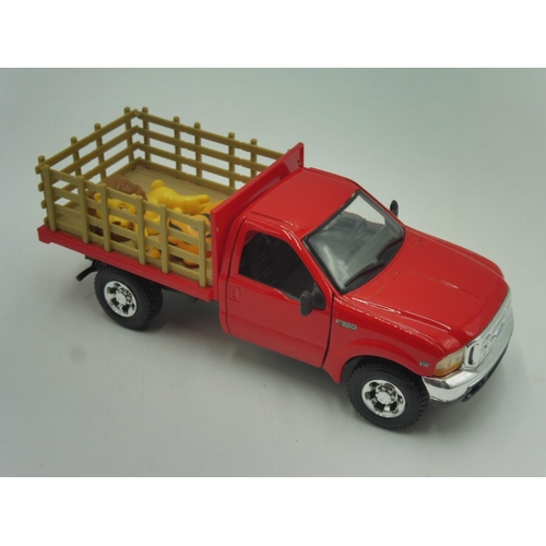 29 - Maisto ford f-350 super duty Scale 1/37 Toy Vehicle...