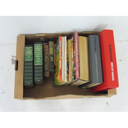 31 - Selection of Various Books including Rupert The Bear, Jack & Jill, Woodworking and More...