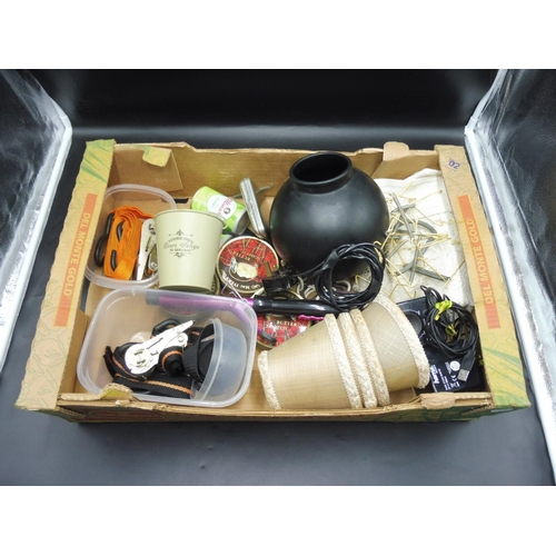 35 - Mixed Box to include Ratchets, Hair Curler, Vase and Other...