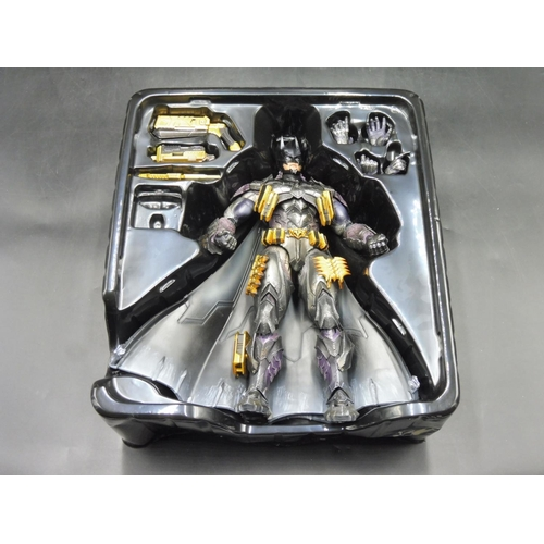 36 - DC Comics Variant Play Arts Kai No. 14 Batman Armoured Action Figure Boxed...