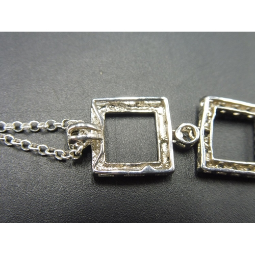 48 - Silver 925 Pendant and Chain...