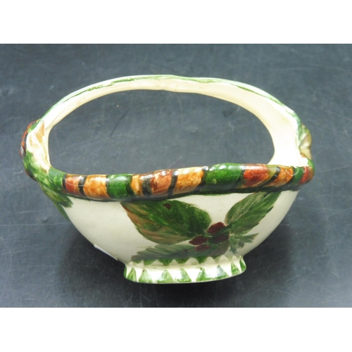 58 - Vintage Arthur Wood Hand Painted Floral Bowl...