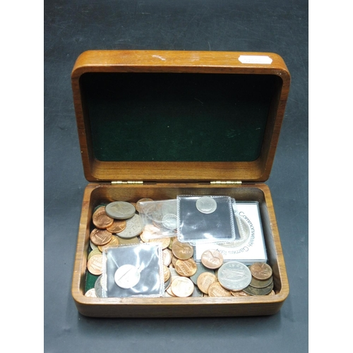 67 - Selection of British and Foreign Coinage including Silver contained within a Disney Animal Kingdom W...