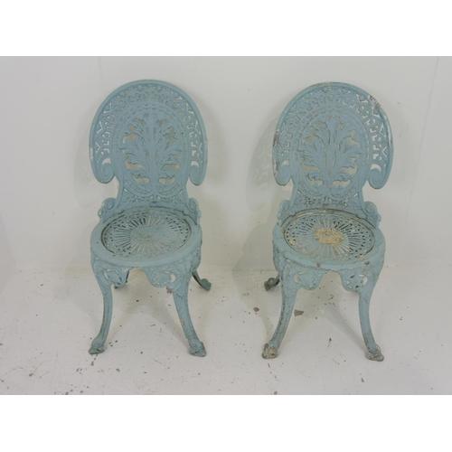 89 - Two Aluminium Garden Chairs...