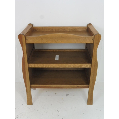 105 - Three Tier Wooden Baby Changing Table 36