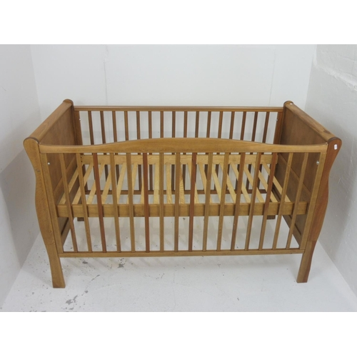 106 - Large Childrens Wooden Cot 36