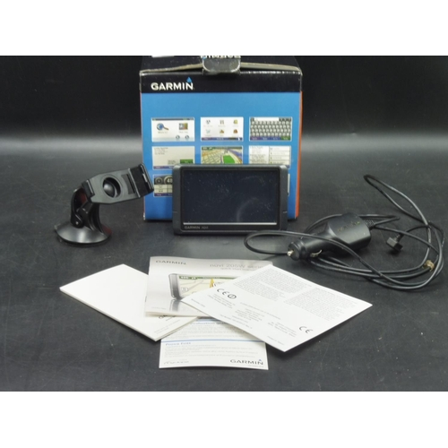 119 - Garmin Nuvi 205 Satellite Navigation System in Original Box complete with Leads...