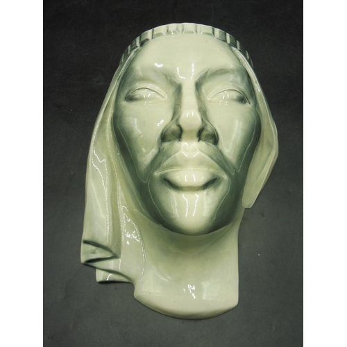 1 - Ladies Ceramic Face Wall Pocket (10