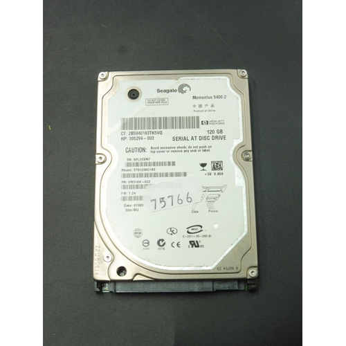 204 - Seagate 120GB Hard Drive...