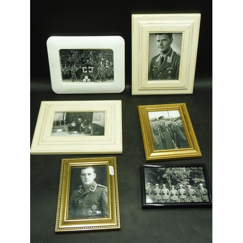 39 - Selection of German WW2 Framed and Glazed Prints (6)...