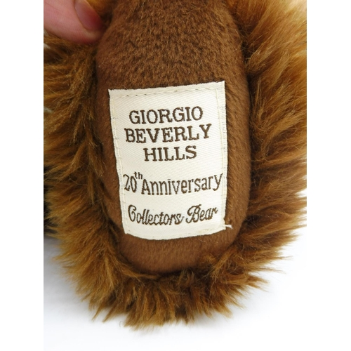 41 - Giorgio Beverly Hills 20th Anniversary Collectors Bear...