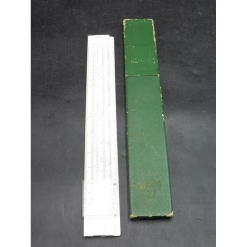21 - Vintage Castel Slide Rule in Case...