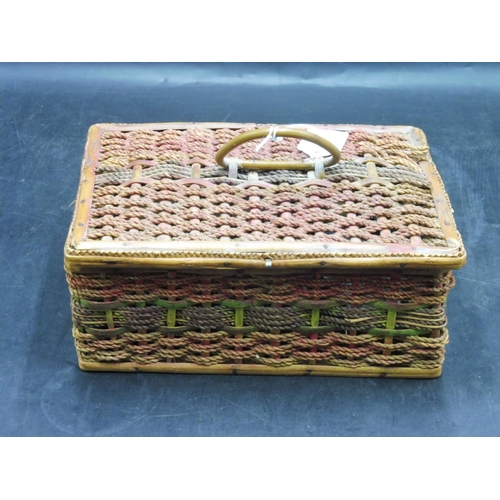 253 - Sewing Basket and Contents...