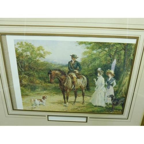 296 - Three Framed and Glazed Heywood Hardy (1843-1933) Prints...