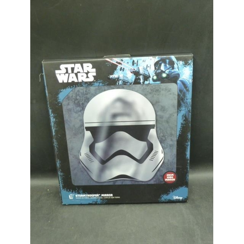 313 - Boxed Star Wars Storm Trooper Mirror...