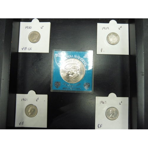 408 - Selection of Coinage Including Silver...