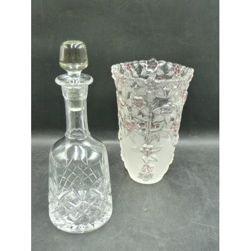 590 - Flower themed Vase (9.5