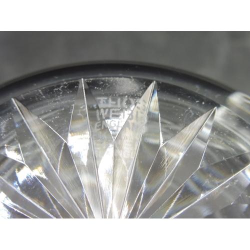 598 - Thomas Webb Crystal Decanter...
