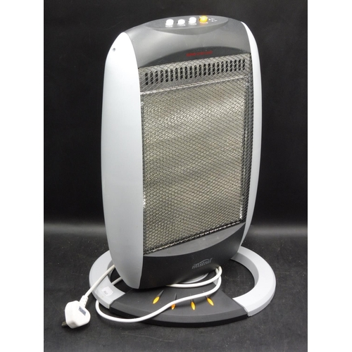 620 - 12OOW Mistral Halogen Heater (Working When Tested)...