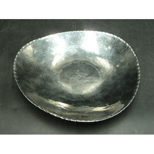 16 - Keswick School Hand Made Pewter Fruit bowl...