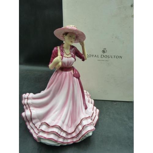 23 - Royal Doulton Pretty Ladies Figurine Complete with Original Box...