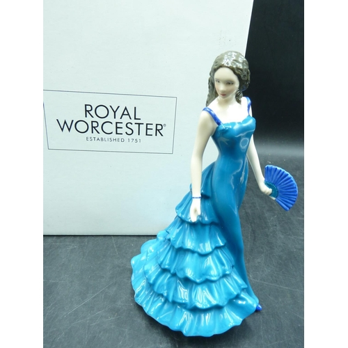 34 - Royal Worcester Special Occasion Figurine Complete with Original Box...