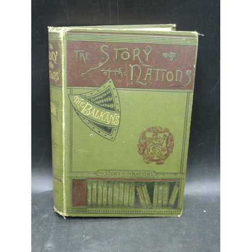 38 - The Story of the Nations - The Balkans by W. Miller T. Fisher Unwin...