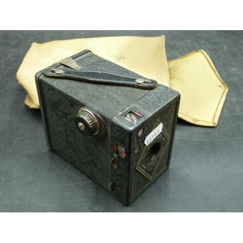 53 - Vintage Ensign E20 Camera in Canvas Case...