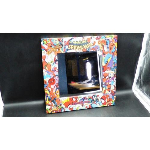 152 - Decoupage Spiderman Framed Mirror (16