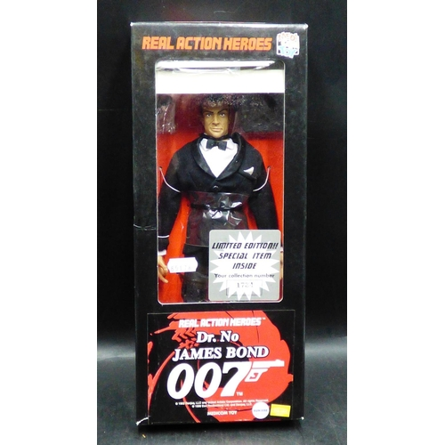 153 - Real Action Heroes Dr. No James Bond 007 in Original Box...