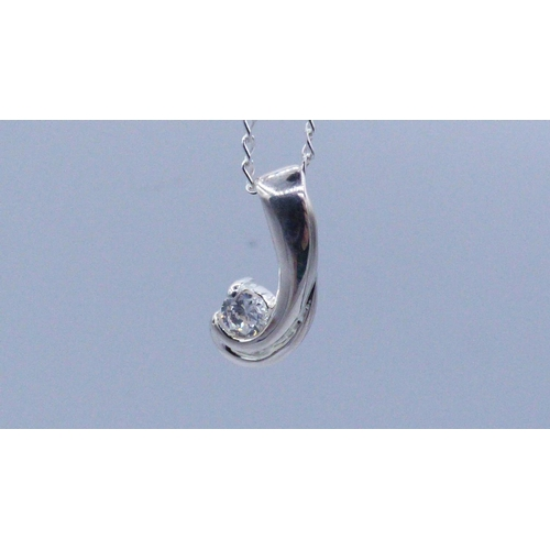 361 - Two Silver 925 Pendant's and Chain's complete with Presentation Box...
