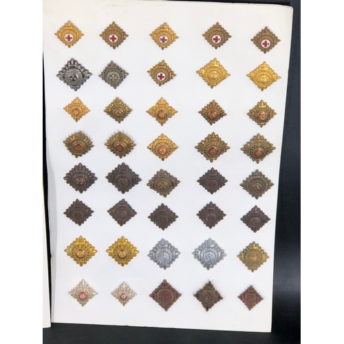 47 - Collection of Army Officers Rank Crowns and Insignia...