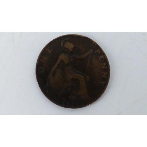 47 - 1912 H Penny Harrison Mint (Scarce)...