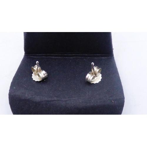 175 - Pair of Genuine Silver Pandora Earrings...
