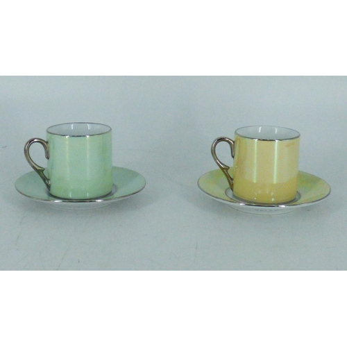 679 - A Set Of Tea For Two Cups With Saucers...
