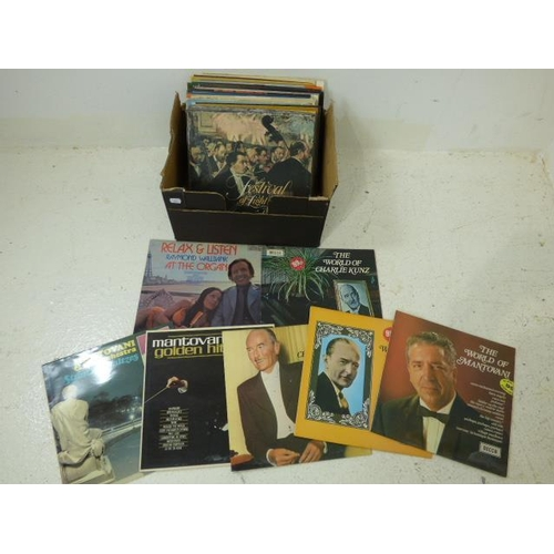 689 - Box of LP's to include Ray Conniff...