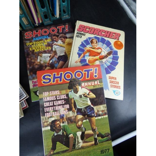 705 - Collection of Magazines and books to include Football...