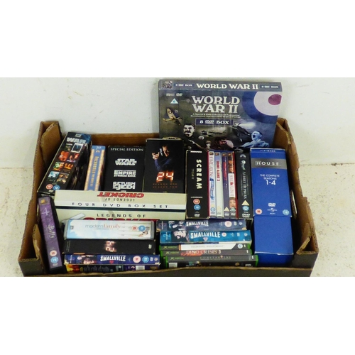 709 - Mixed Lot of DVD's Including Box Sets...